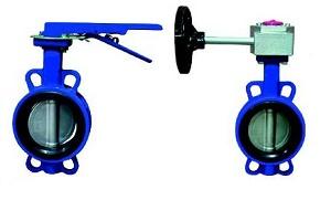 Затвор поворотный дисковый BUV-VF серии 826, DN 600
